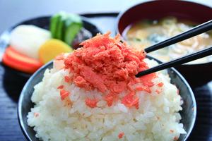北海道秋鮭 炙り鮭明太子